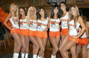 Official hooters girl shorts as worn by the scantily clad hooters