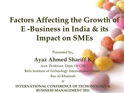 Mba In E Business In India by Factors Affecting Growth Of E Business In India