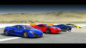 Gt Vs Lamborghini Forza 6 Drag Race 2017 Ford Gt Vs Mclaren 650s