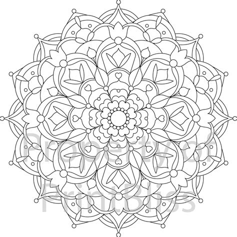 flower mandala coloring pages printable 22 flower mandala printable coloring page mandala