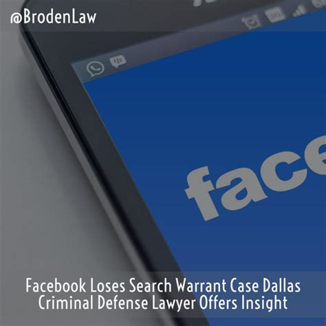 Dallas Warrant Search Loses Search Warrant Dallas Criminal Defense Lawyer Offers Insight