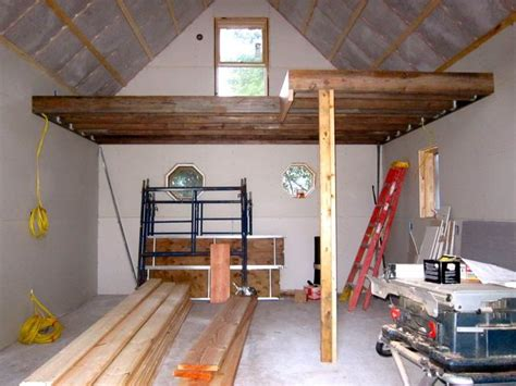 loft in garage sheetrock loft jpg 640 215 480 garage smarage pinterest