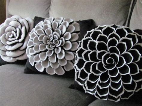 How To Make Decorative Pillows by Decorative Pillow Felt Flower Pillow Pattern Flower