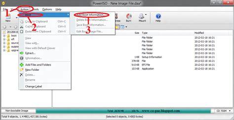 membuat bootable cd windows xp dengan poweriso cara membuat bootable iso dengan poweriso dhofirpm