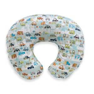 boppy pillow with cover cars