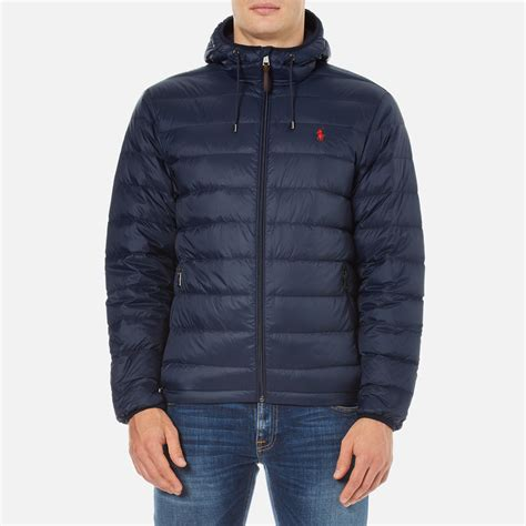 Jaket Parka Tipe A Polos Navy polo ralph s packable jacket aviator navy free uk delivery 163 50