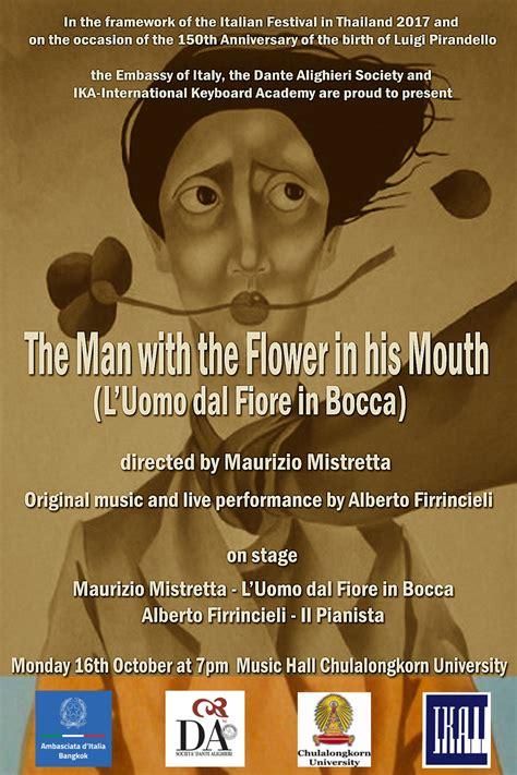 pirandello l uomo dal fiore in bocca l uomo dal fiore in bocca