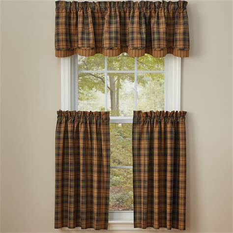 Park Designs Curtains Thorton Lined Layered Curtain Valance 72 Quot X 16 Quot