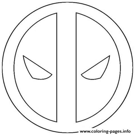 deadpool coloring deadpool free colouring pages