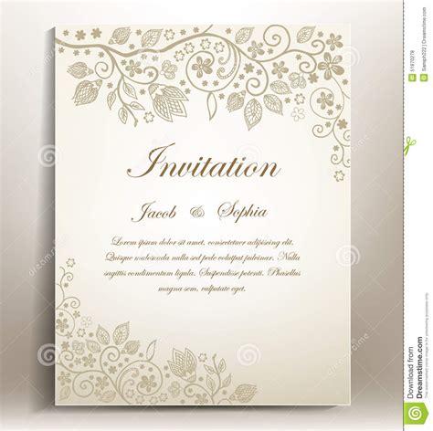 wedding invitation letter vector free matik for