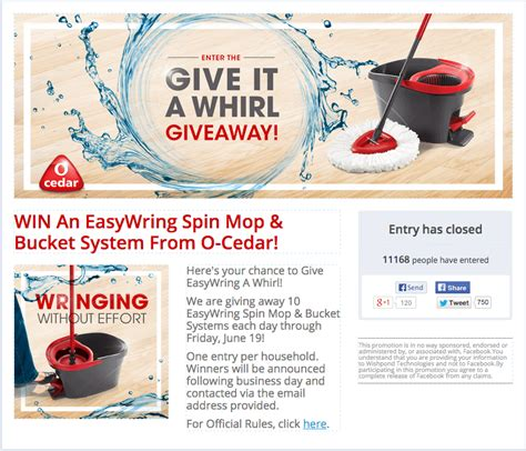 Exles Of Sweepstakes - 24 amazing facebook giveaway exles