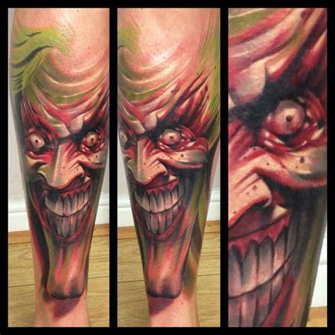 tattoo evil joker joker tattoo best scary evil design tattooshunter com