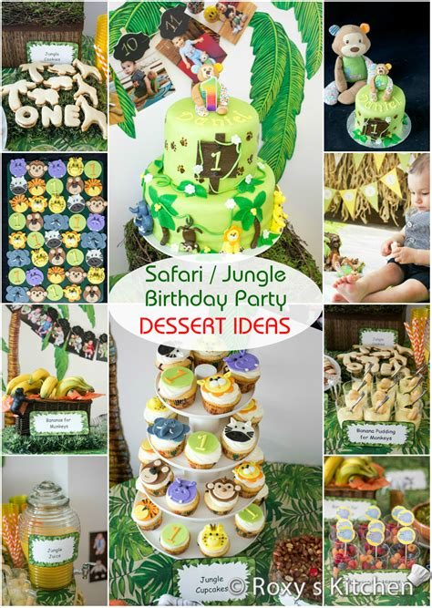 themed birthday safari jungle themed birthday part iii diy decoration ideas free