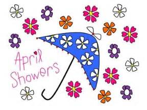 april showers and flowers clip clip freebies