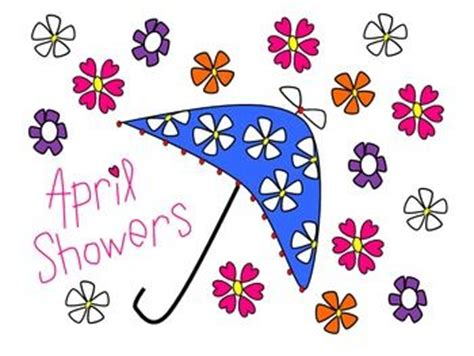 april showers clipart april showers and flowers clip clip freebies