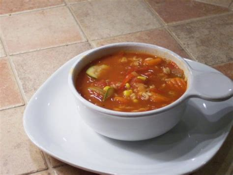 Garden Vegetable Soup by Garden Tomato Vegetable Soup Recipe Food