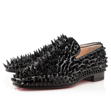 louis vuitton bottom loafers black spiked loafers louis vuitton shoes