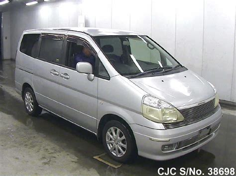 nissan serena 2000 2000 nissan serena silver for sale stock no 38698