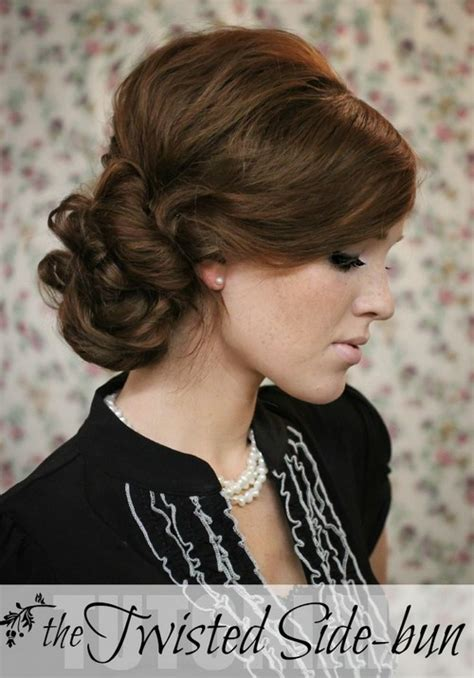 Wedding Hair Side Bun Tutorial by 10 Side Bun Tutorials Low And Braids Updos