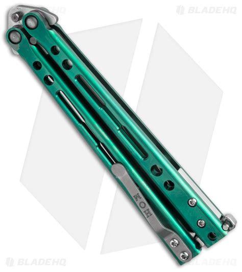 hom design hom design specter evo titanium balisong butterfly knife
