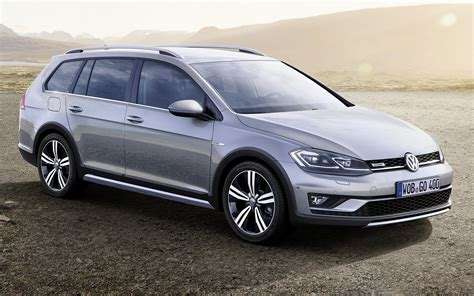 volkswagen golf alltrack  wallpapers  hd images