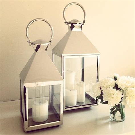 Home Decor Candle Lanterns Lanterns Silver Decor Lighting Candles Flowers Home Decor Homewares Style Inspiration
