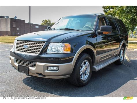 Expedition E6684 Black 1 2004 ford expedition eddie bauer 4x4 in black b54174 nysportscars cars for sale in new