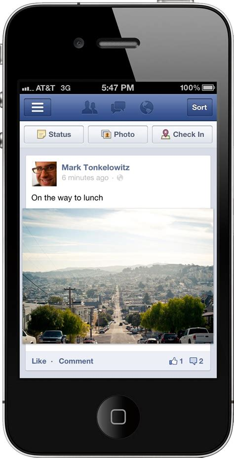 layout android facebook facebook updates mobile photo layout adweek