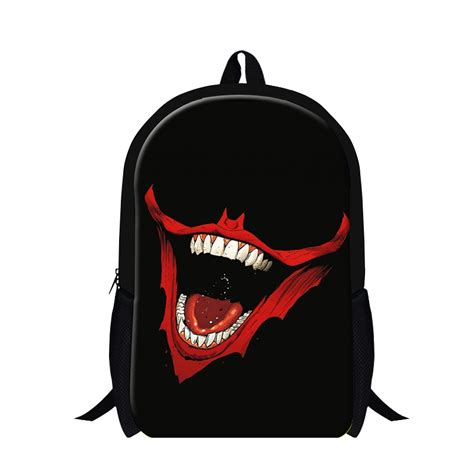 Tas One Backpack Anime aliexpress koop schedel print dubbele schouder rugzak