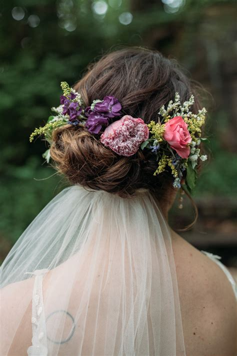 Backyard Wedding Hairstyles Garden Diy Backyard Wedding