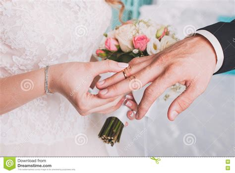 Wedding Ring Exchange Clipart by The Exchange Wedding Rings Stock Image