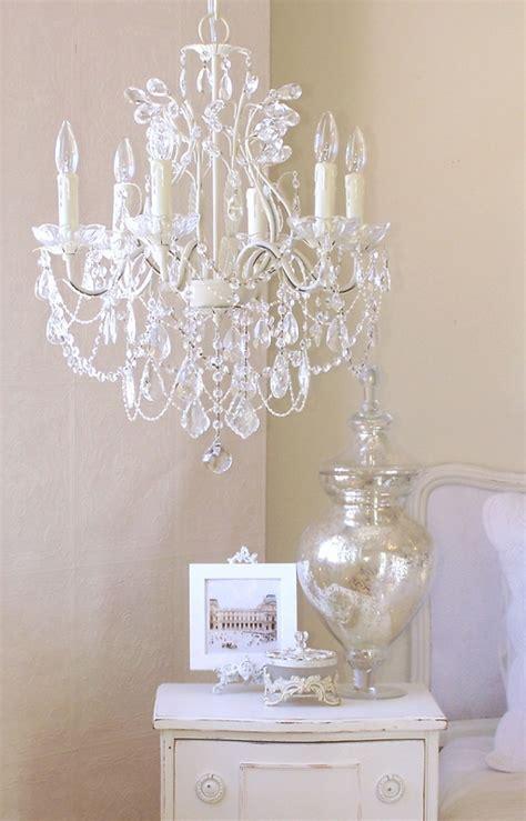 chandeliers white 6 light leafy antique white chandelier