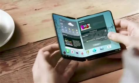 samsung foldable phone samsung foldable phones will be available in 2018