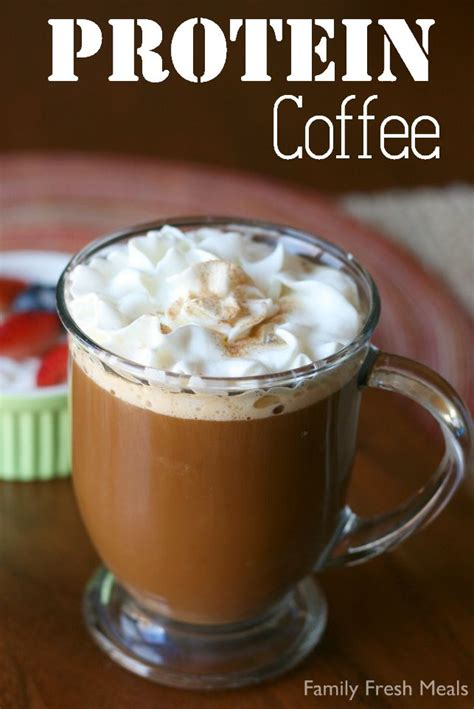 Protein Coffee protein coffee recipe dr oz protein and