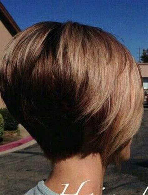 printable pictures of the inverted stack haircut really trending short stacked bob ideas short stacked