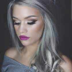 gray hair color trend 2015 granny hair trend young women are dyeing their hair