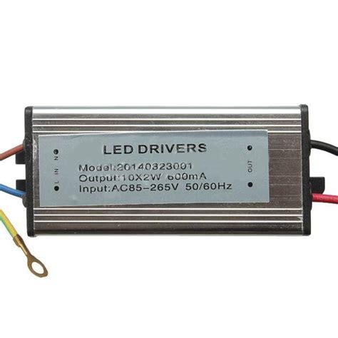 Led Driver 20w buy 20w 50 60hz high power led driver waterproof ip65 ac85v 265v bazaargadgets