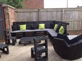 Patio Furniture Made From Pallets Wooden Pallet Outdoor Furniture Ideas Recycled Things