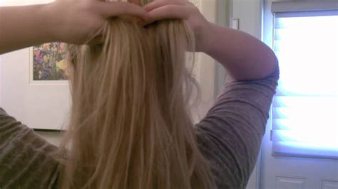 euronext 18 blonde frost how to clip in hair extensions youtube