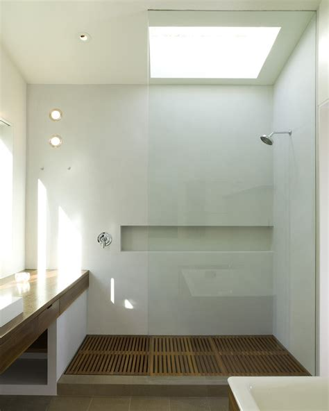 teak bathroom teak shower floor bathroom contemporary with glass shower