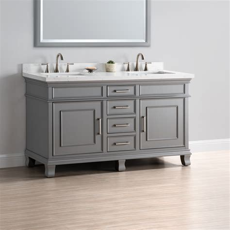 Charleston 60 Quot Double Sink Vanity Mission Hills Furniture Where To Buy Bathroom Vanity