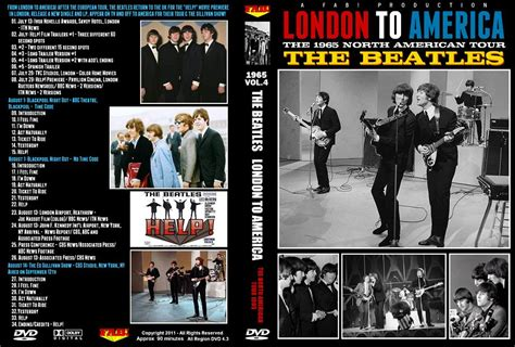 Cd The Beatles One Deluxe Dvd Imported Usa beatles dvd to america 1965 tour