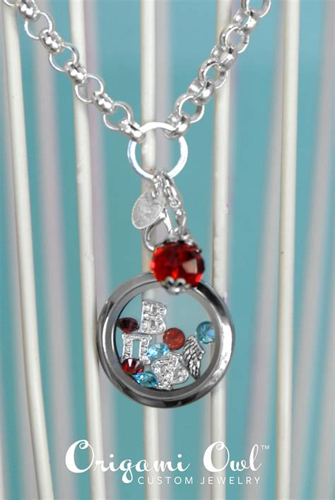 17 best images about origami owl sorority jewelry on