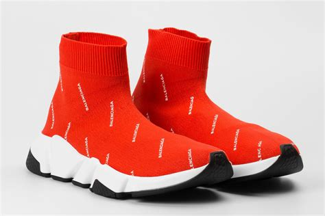 The Colette x Balenciaga Speed Trainer Sneaker Is Selling ... White Gucci Shoes For Men