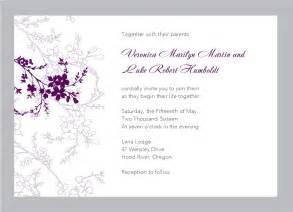 wedding invitation free templates printable free printable wedding invitation templates