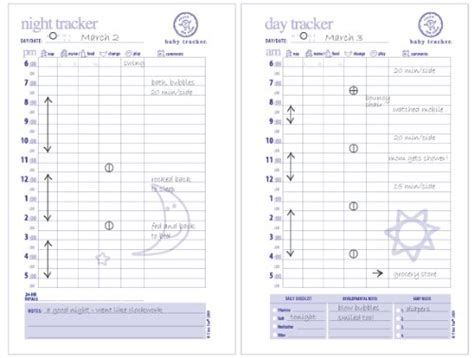 baby log book template baby tracker for newborns the clock childcare