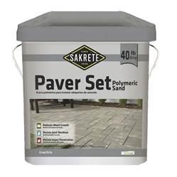 Smart Living Patio Set Shop Sakrete 40 Lb Gray Polymeric Sand At Lowes Com