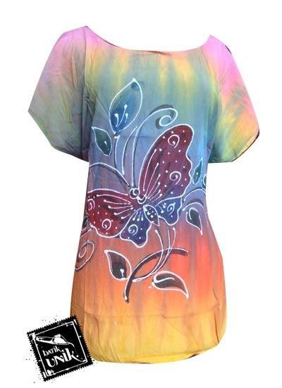Baju Pantai Murah Keren 7 baju batik kaos lukis motif pantai sunset etnik kaos murah batikunik