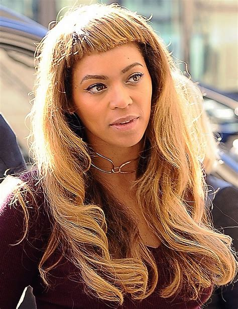 Beyonces New by Beyonce S New Bangs Mystylebell Your