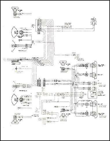 malibu classic  monte carlo wiring diagram  chevy chevrolet schematic ebay